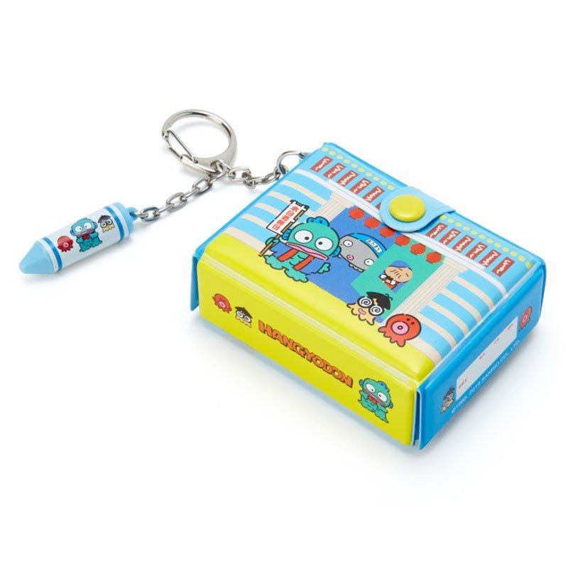 Hangyodon Keychain Key Holder Tool Box shape Sanrio Japan