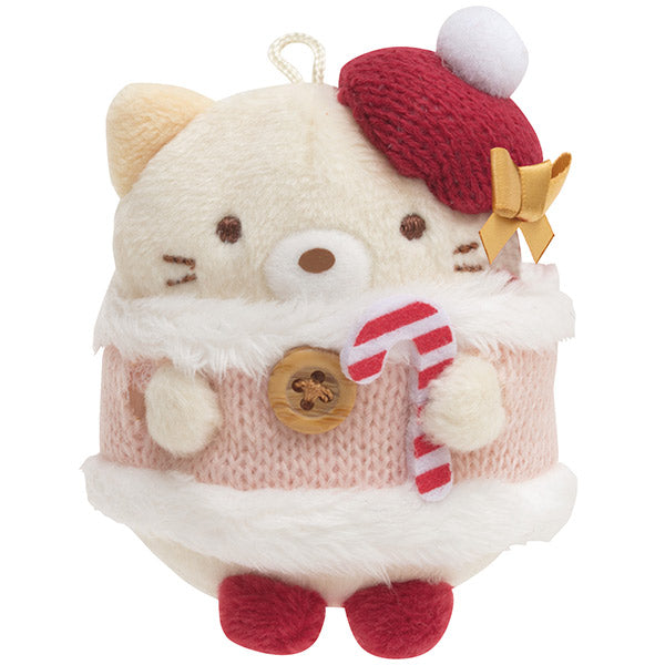 Sumikko Gurashi Neko Cat mini Tenori Plush Doll San-X Japan Christmas 2020