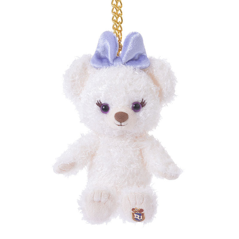 UniBEARsity Puffy Plush Keychain Sitting Disney Store Japan