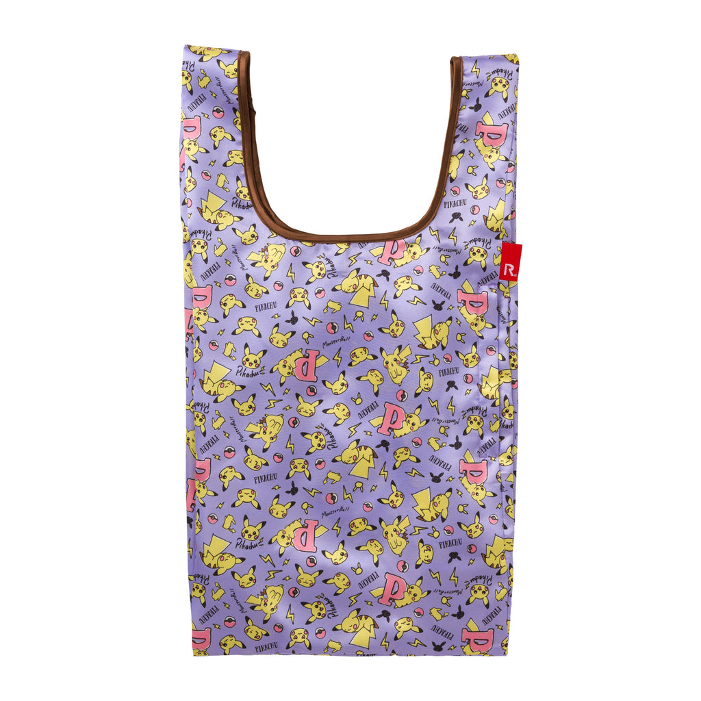 Pikachu drawing ROOTOTE Eco Shopping Tote Bag M Pokemon Center Japan