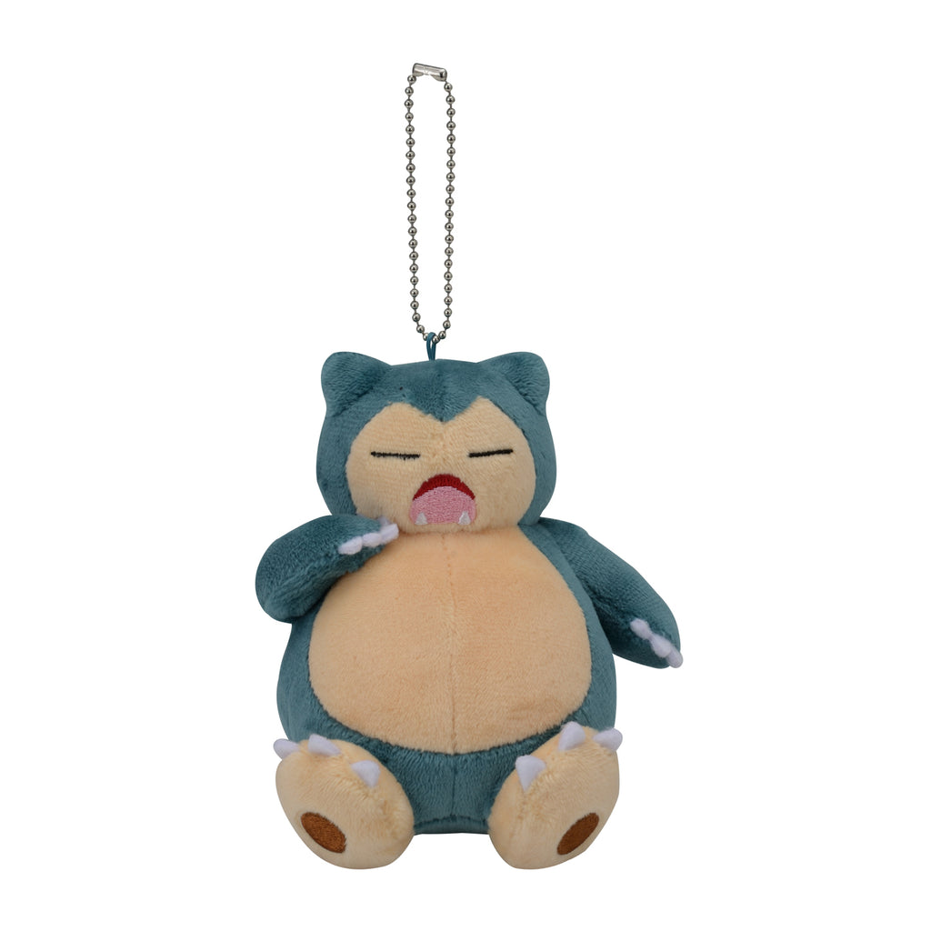 Snorlax Yawn Kabigon Plush Keychain Pokemon Center Japan Original