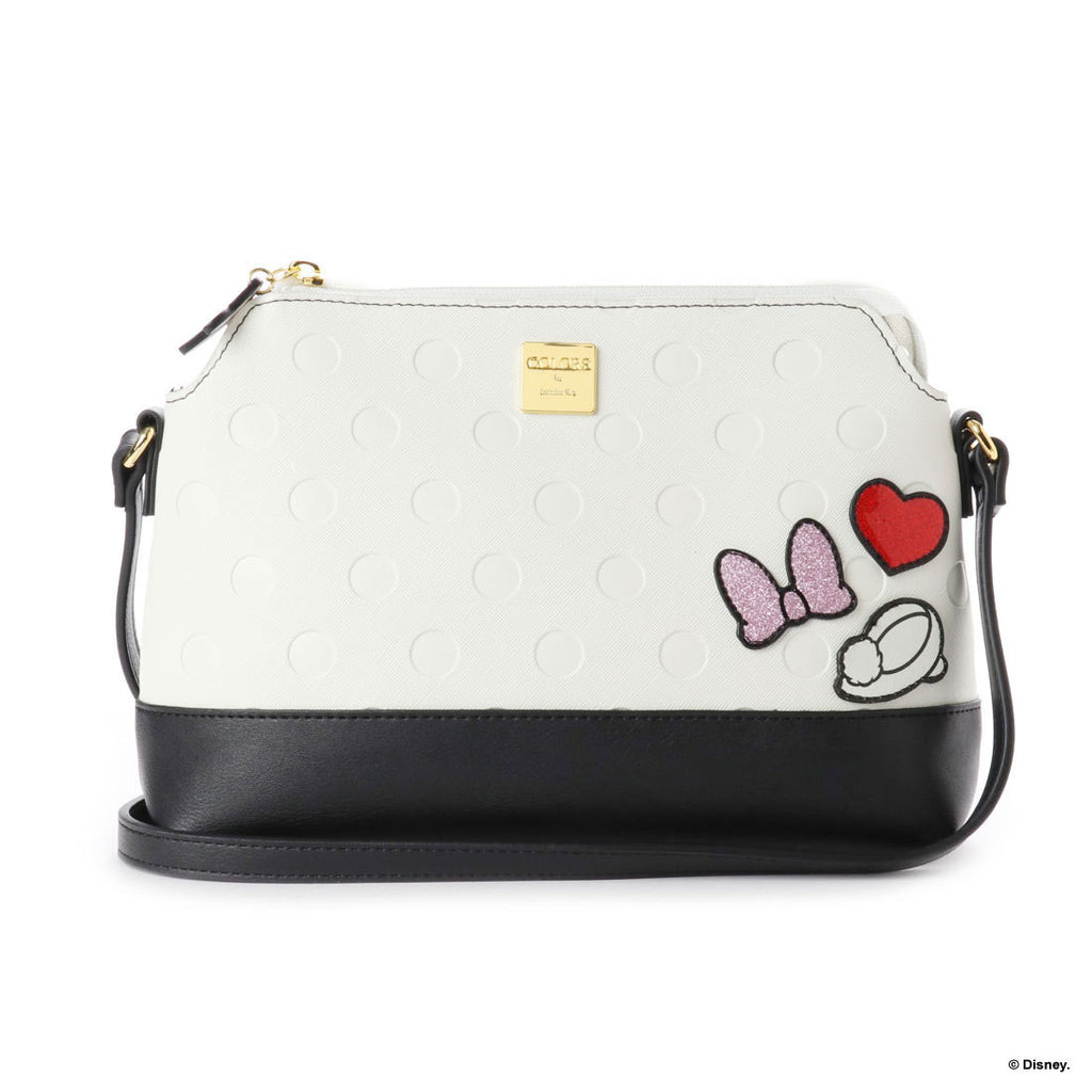 Minnie Shoulder Bag White D23 Disney COLORS by Jennifer sky Japan