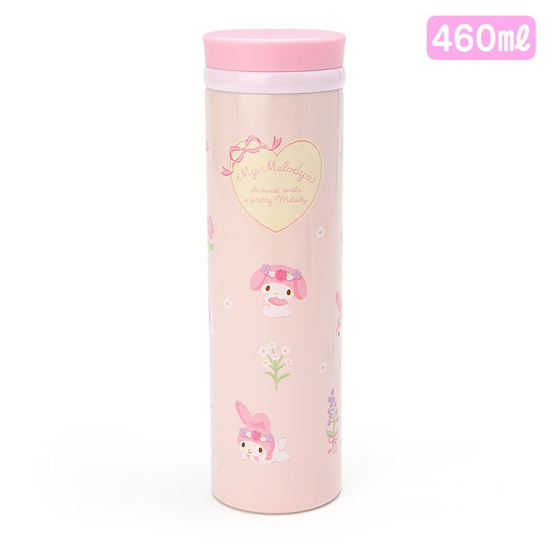 My Melody Stainless Bottle 460ml Sanrio Japan