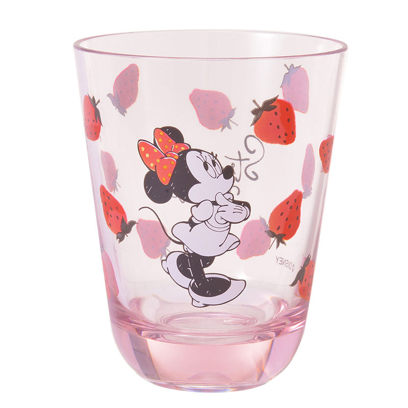 Minnie Plastic Cup Strawberry Ichigo Lifestyle Disney Store Japan