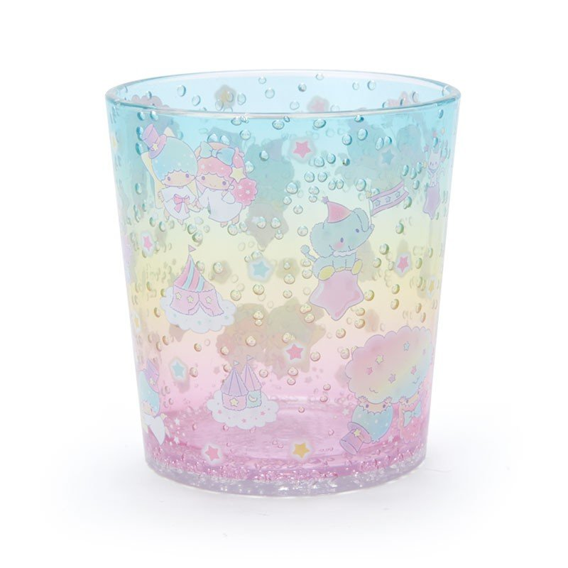 Little Twin Stars Kiki Lala Plastic Cup Clear Tumbler Sanrio Japan