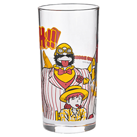Porco Rosso Glass Cup Bleah Studio Ghibli Japan