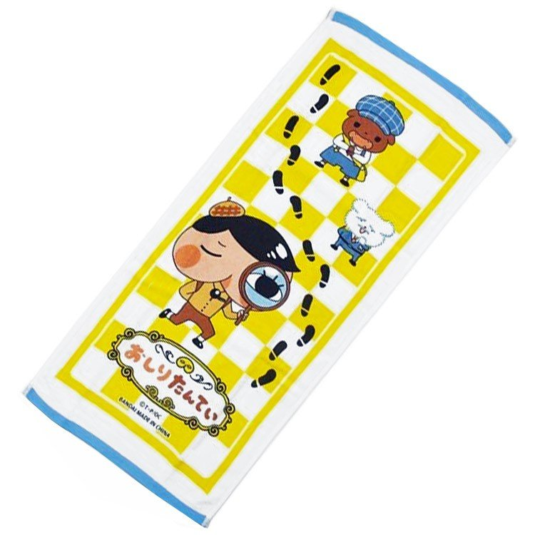 Oshiritantei Butt Detective Face Towel Japan