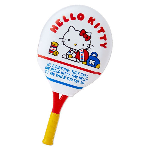 Hello Kitty Racket Shape Mirror & Comb Set Tennis Sanrio Japan