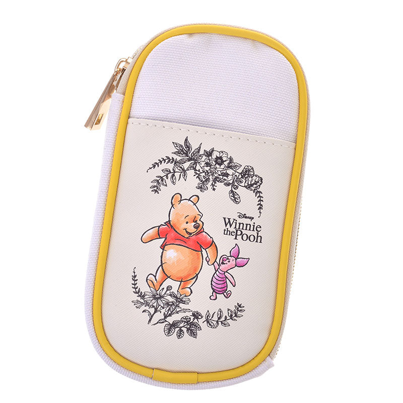 Winnie the Pooh & Piglet Pouch Natural Disney Store Japan