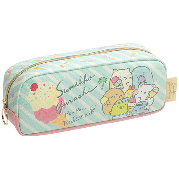 Sumikko Gurashi Pen Case Pencil Pouch Pen Pen Ice Cream San-X Japan