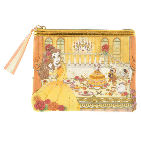 Belle Pen Case Pencil Pouch Princess Party Disney Store Japan Beauty & the Beast