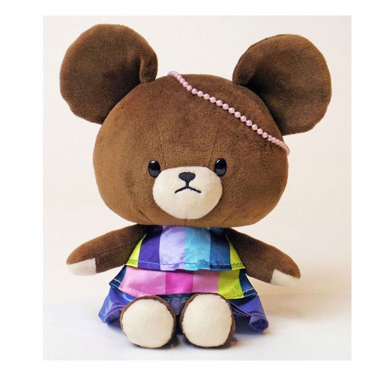 Jackie Soft Plush Bean Doll Party Dress the bears' school Japan