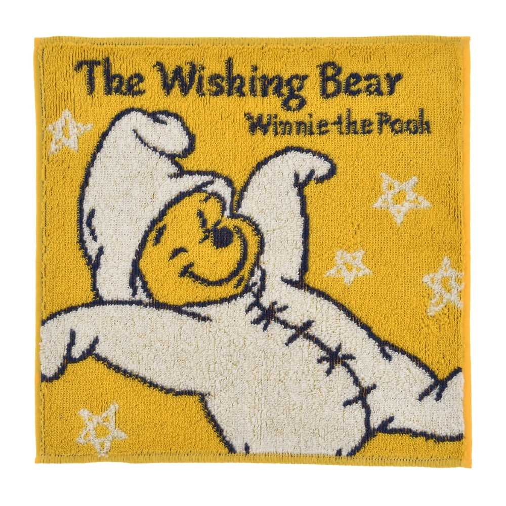 Winnie the Pooh mini Towel The Wishing Bear Disney Store Japan