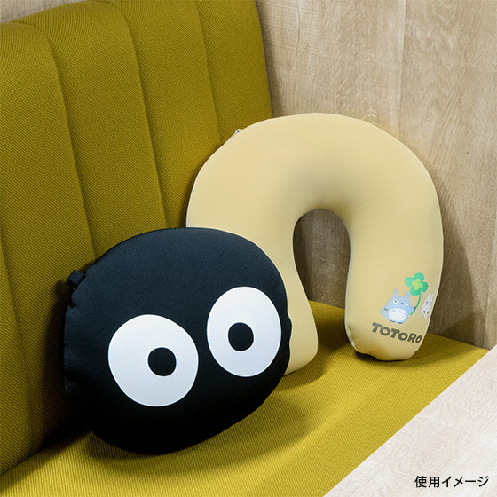 My Neighbor Totoro Makkuro Kurosuke Neck Pillow Studio Ghibli Japan