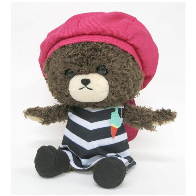 Jackie Plush Doll Soft Serve the bears' school Japan
