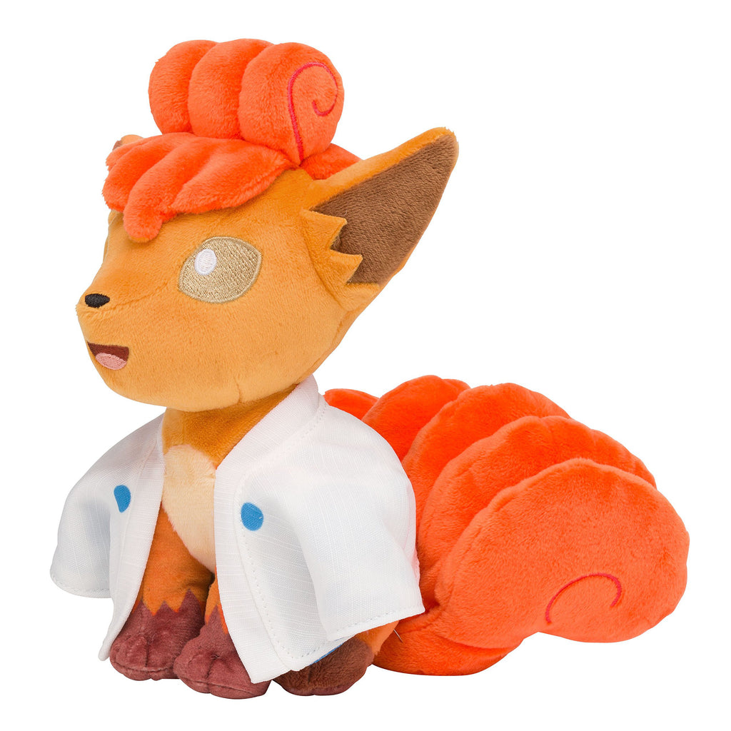 Vulpix Rokon Plush Doll Hyaku Poke Yako Japan Pokemon Center Original