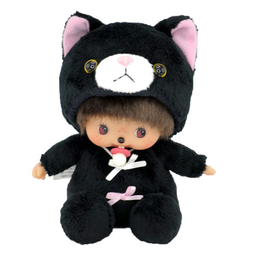 Bebichhichi Doll Girl Black Cat Monchhichi Japan