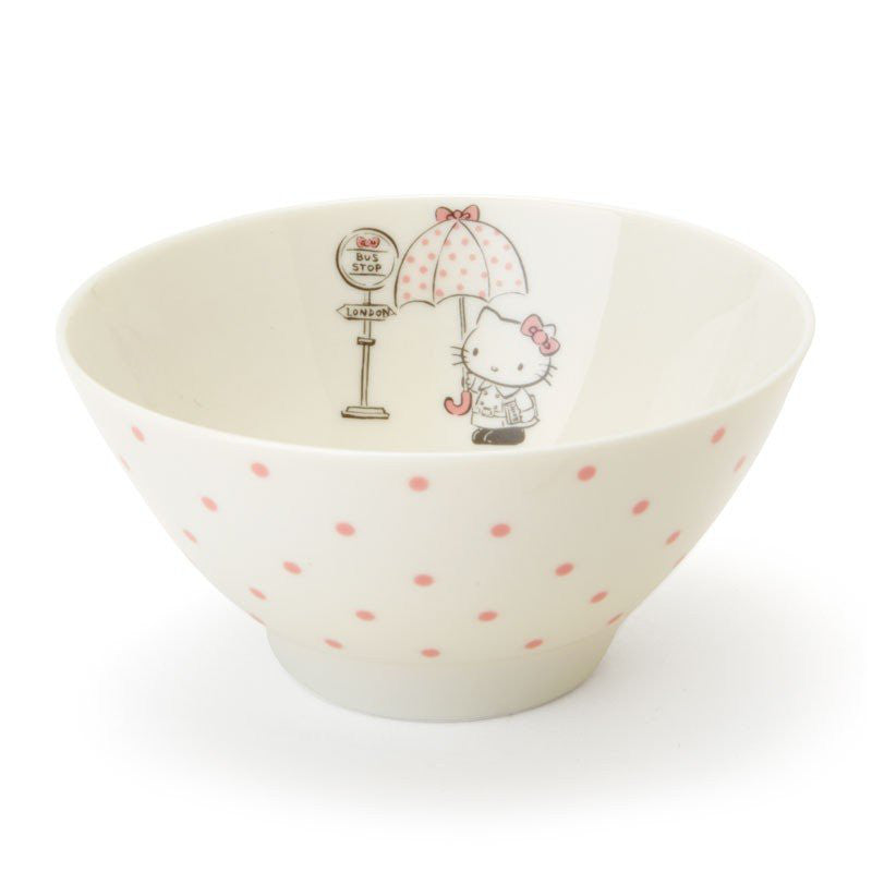 Hello Kitty Rice Bowl London Umbrella Sanrio Japan