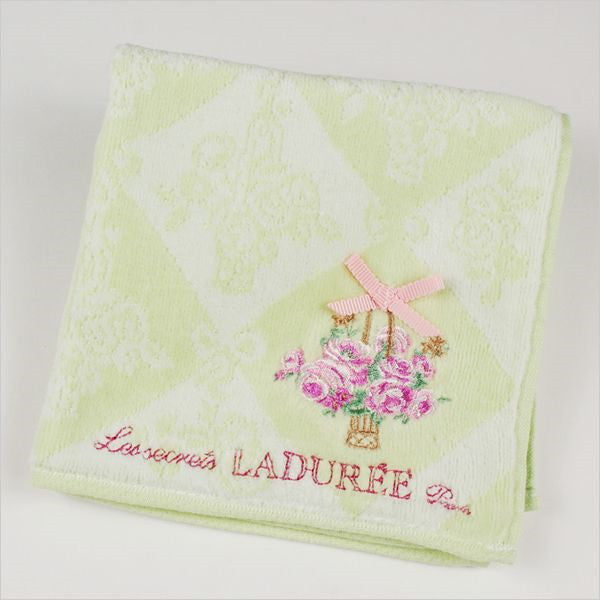 Towel Handkerchief Eleonore Green Laduree Japan