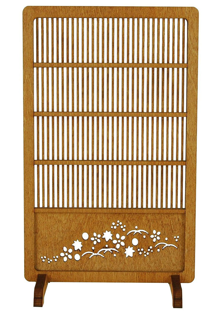 1/12 Wooden Assembly Kit Japanese Modern Screen 4 Japan Wanozousaku WZ-014