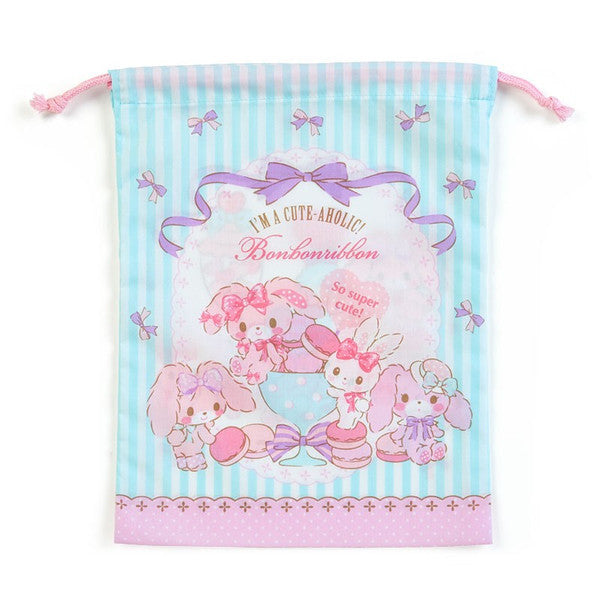 Bonbonribbon Drawstring Bag Pouch M Party Sanrio Japan