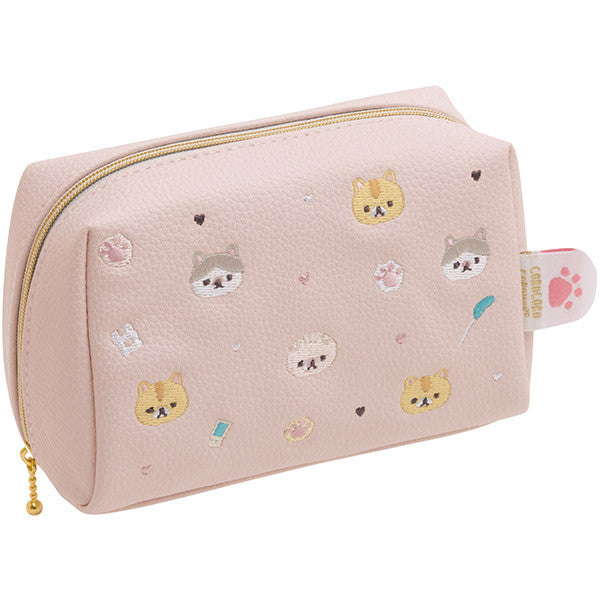 Corocoro Coronya Cat Pouch Coronya with Plum chan Pad San-X Japan