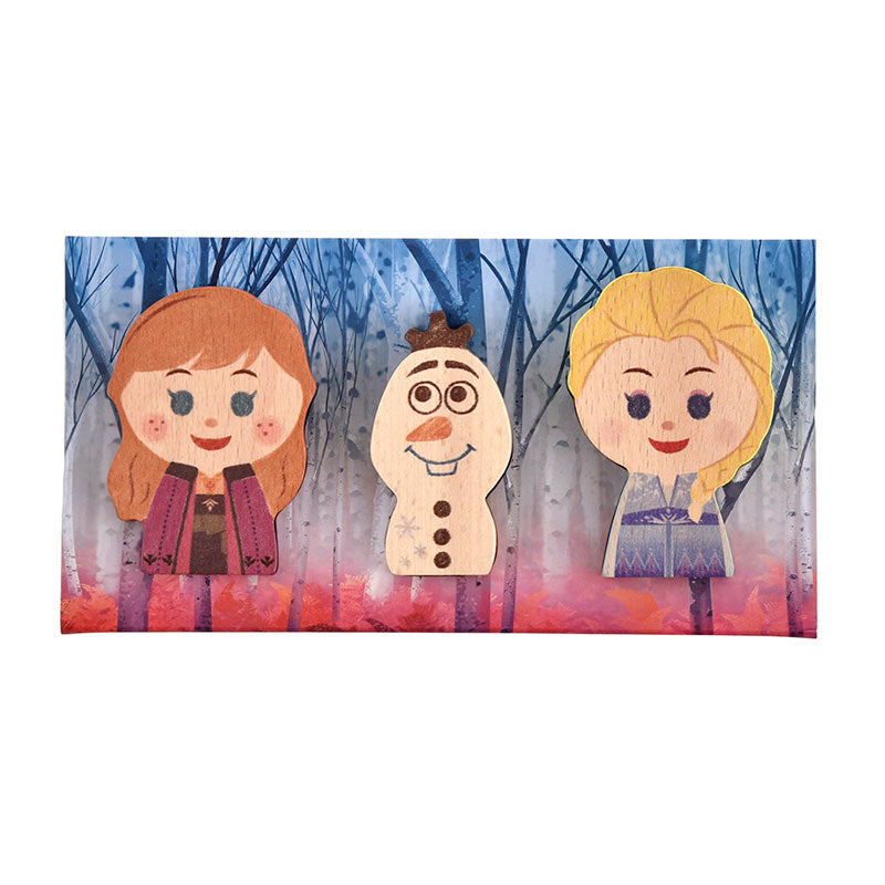 Frozen 2 Anna Elsa Olaf KIDEA Toy Wooden Blocks Disney Store Japan