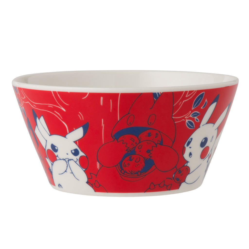 Bowl Red Pikachu in the forest Pokemon Center Japan Original