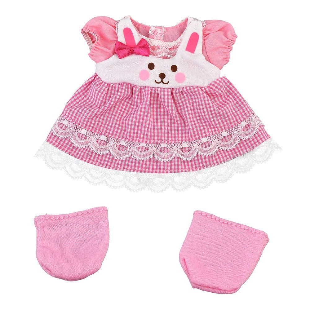 Costume for Mell chan Doll Rabbit Dress Set Pilot Japan