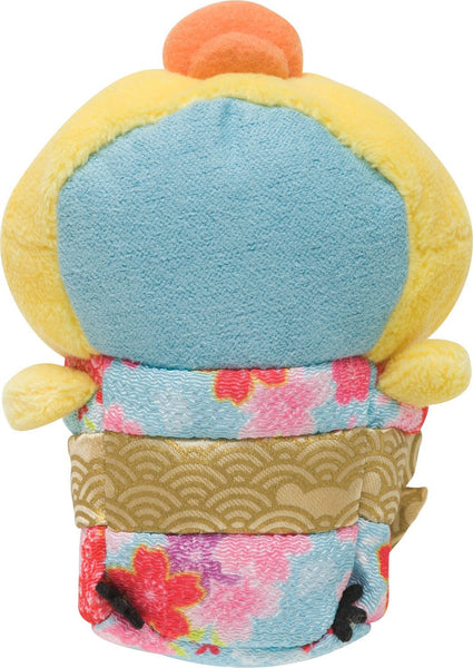 Kiiroitori Kimono mini Plush Doll San-X Rilakkuma Japan Tsum Tsum Yellow Duck