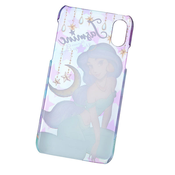 Jasmine iPhone X Case Cover urukira Glitter Disney Store Japan Aladdin