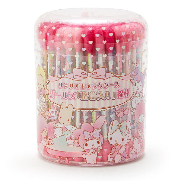 Sanrio Characters Swab with Girls Maxim Sanrio Japan