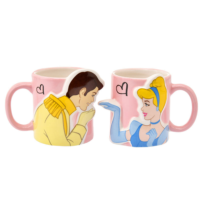 Cinderella Prince Mug Cup Pair Disney Store Japan Box