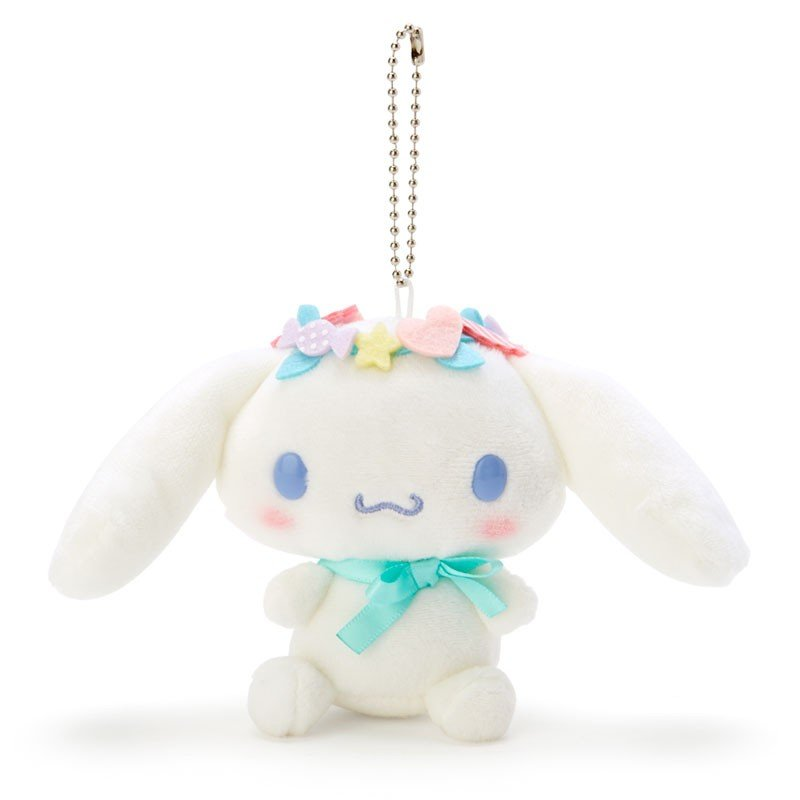 Cinnamoroll Plush Mascot Holder Keychain Unicorn Sanrio Japan