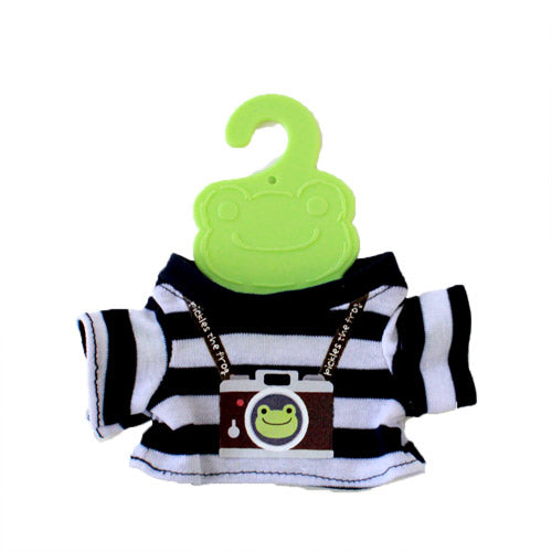 Pickles the Frog Costume for Bean Doll Plush mini T-shirt Camera Japan