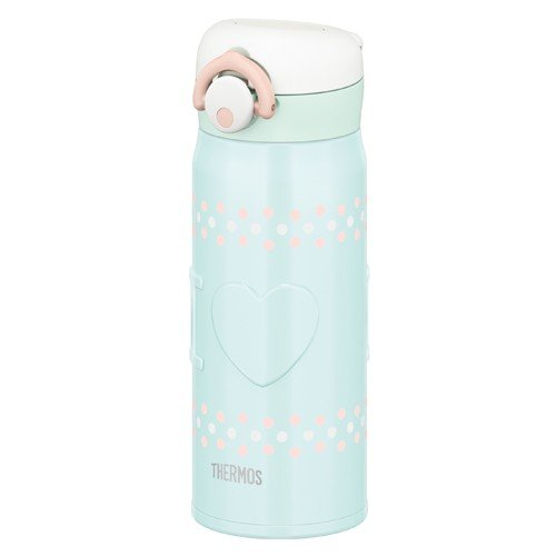 Stainless Bottle 400ml JNR-400-BL Blue Thermos Japan