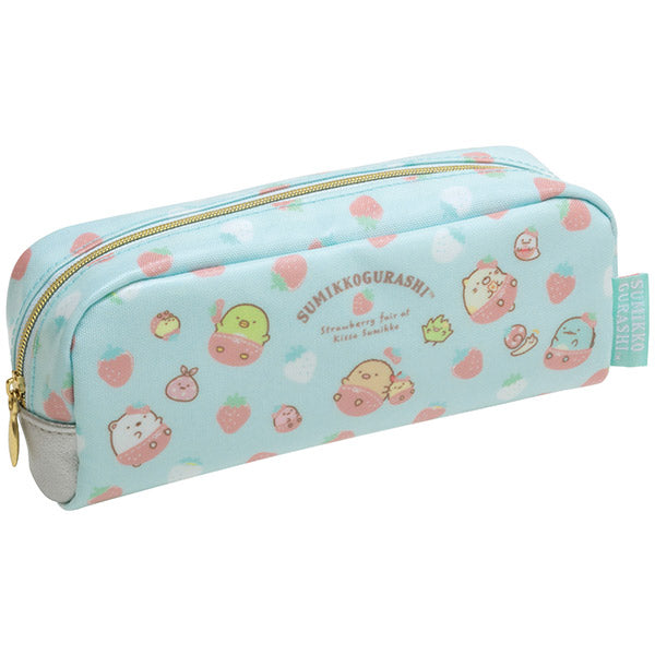 Sumikko Gurashi Pen Case Pencil Pouch Strawberry Fair San-X Japan