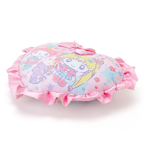 My Melody Sailor Moon Cushion Heart Sanrio Japan