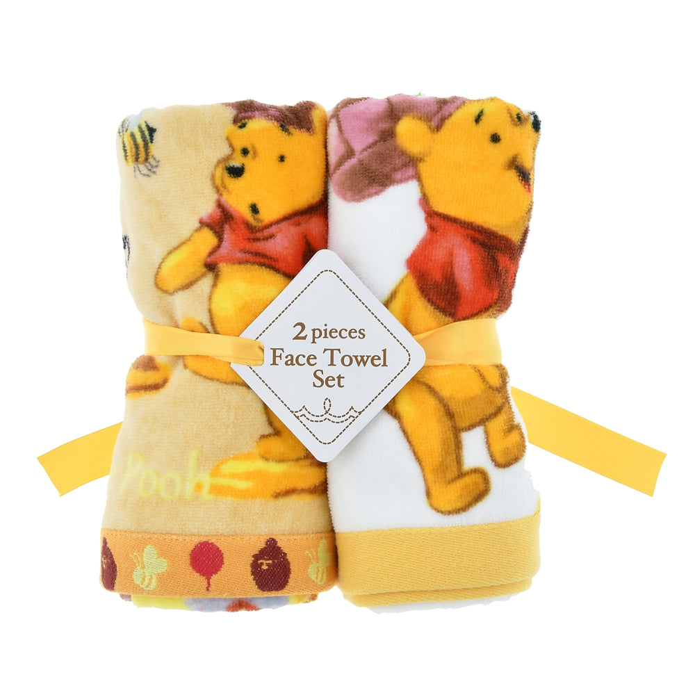 Winnie the Pooh Face Towel Set Fantasy Disney Store Japan
