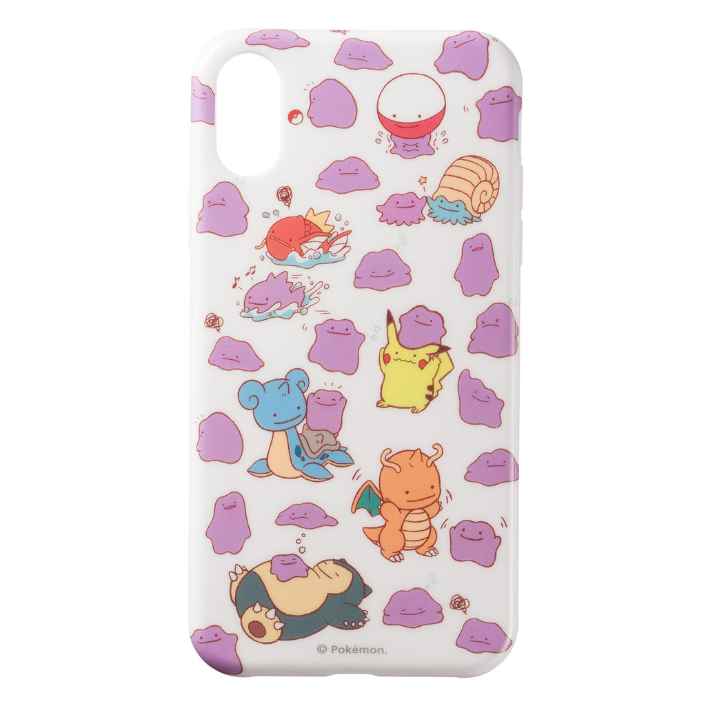 Ditto iPhone XR Case Cover Soft Transform! Metamon Pokemon Center Japan