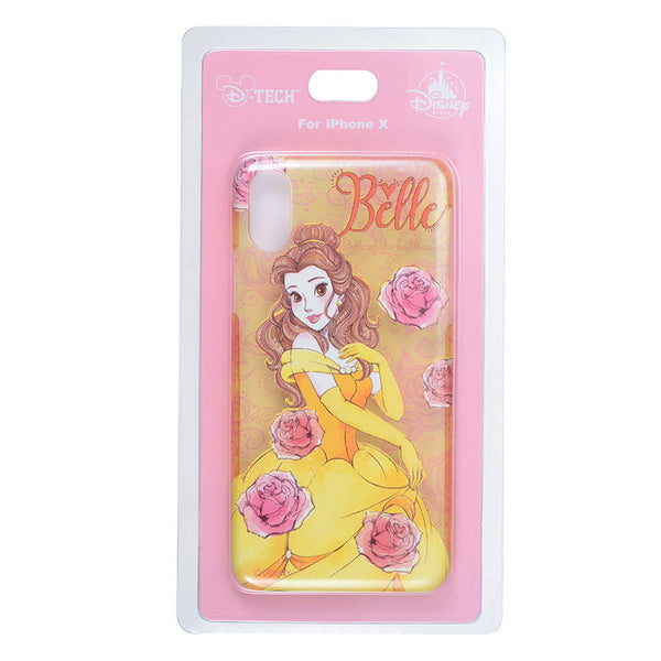 Belle iPhone X Case Cover urukira Glitter Disney Store Japan Beauty & the Beast