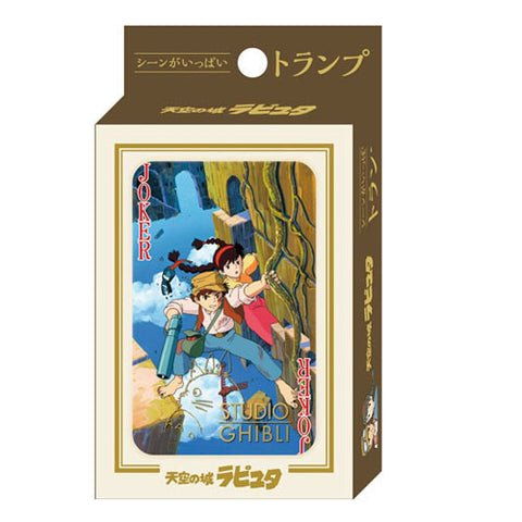 Castle in the Sky Playing Cards Studio Ghibli Japan