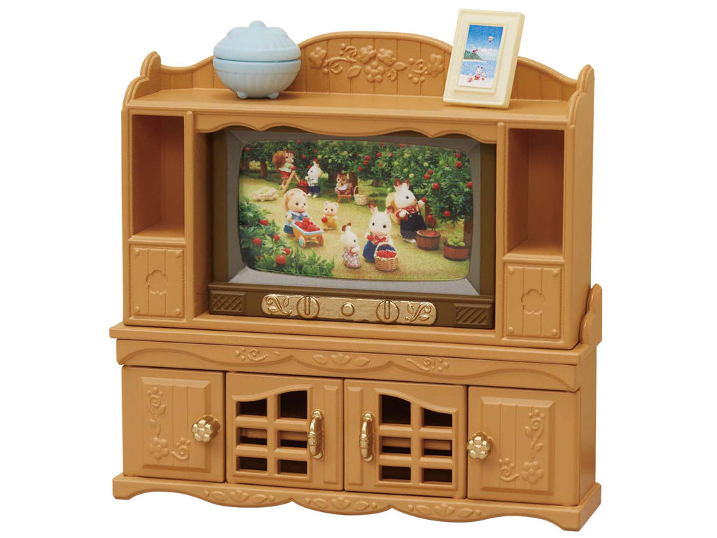 Furniture TV and Stand Set Ka-522 Sylvanian Families Japan Calico Critters