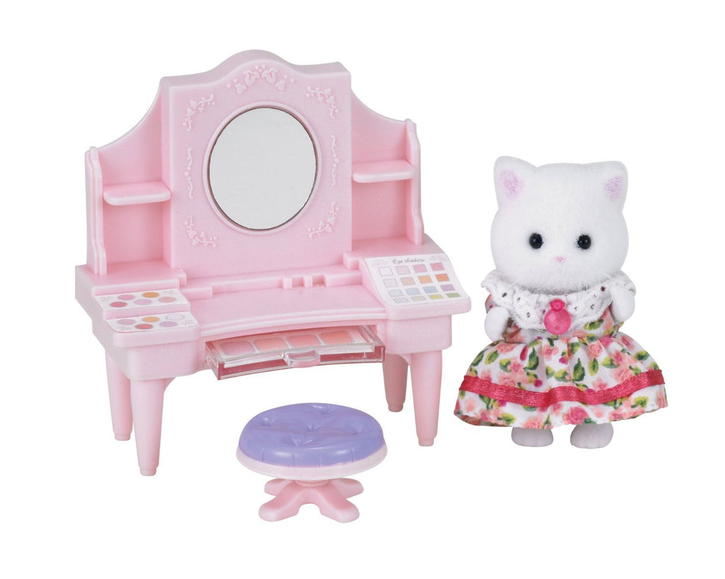 Sylvanian Families MI-76 Beauty Make Salon Set Japan Calico Critters Epoch