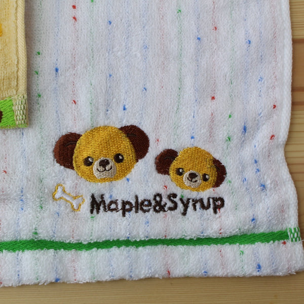 Disney Store Japan Maple & Syrup Hand + Mini Towel Set VIP Gift RARE!