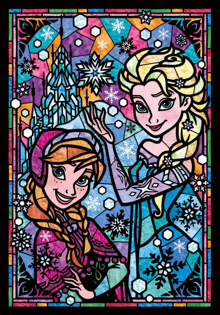Jigsaw Puzzle Disney Japan 266 Piece Frozen Anna Elsa DSG-266-753