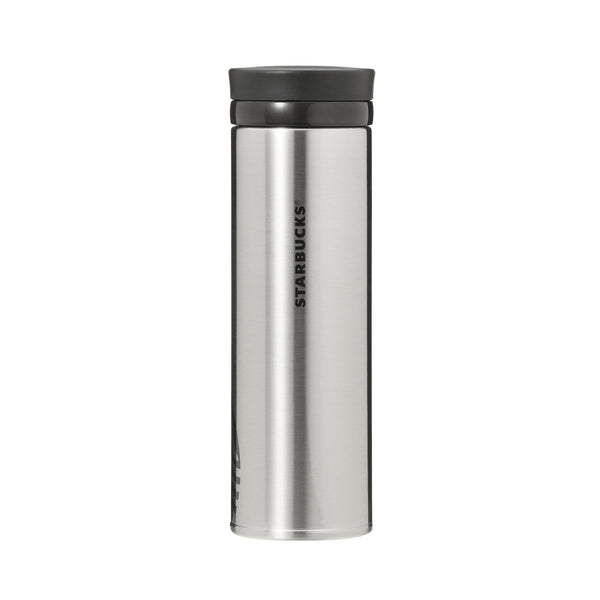 Stainless Ring Bottle Tumbler Silver 500ml Starbucks Japan