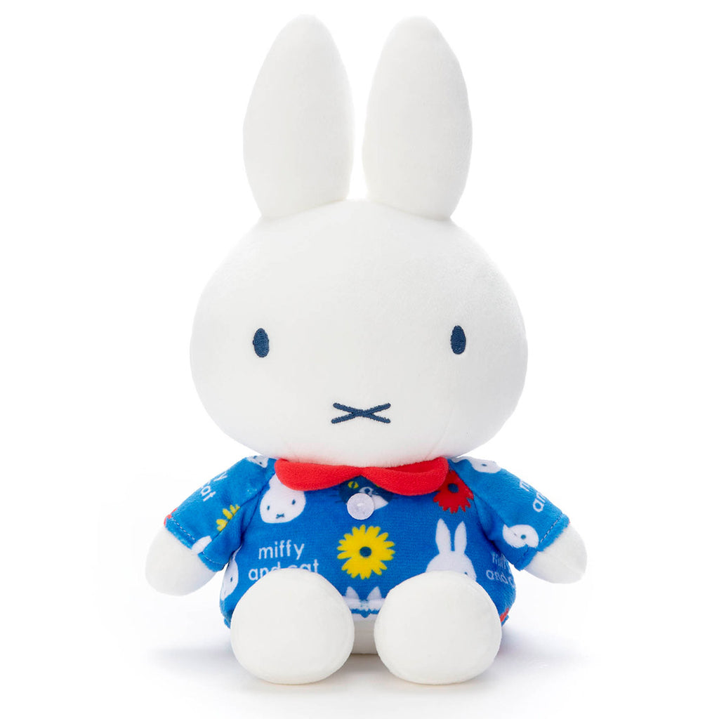 Miffy and cat Plush Doll S Mocchi-Mocchi- Takara Tomy Dick Bruna Japan