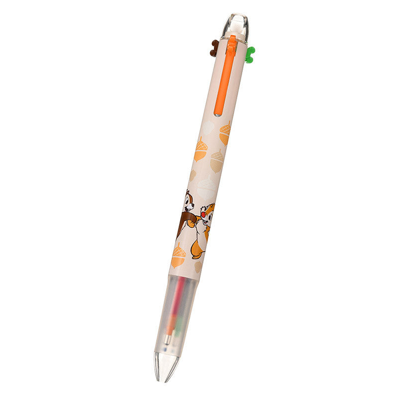 Chip & Dale Pilot HI TEC C COLETO 3Color Ballpoint Pen Disney Store Japan
