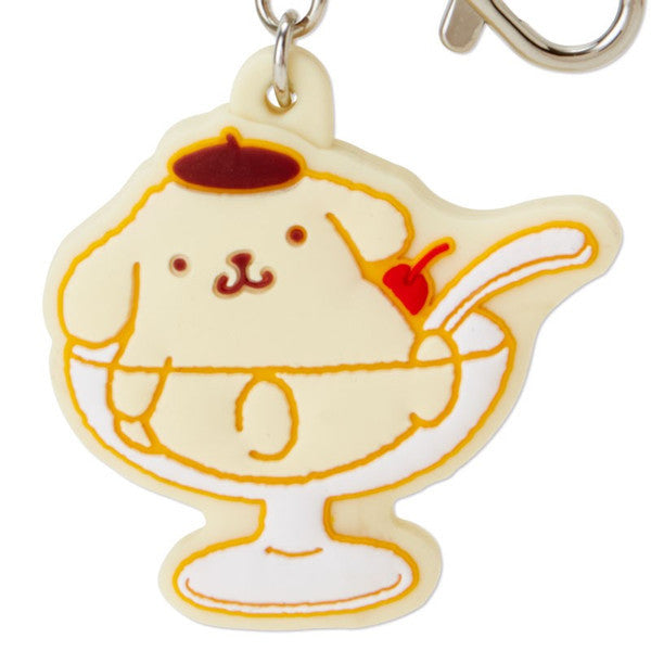 Pom Pom Purin Rubber Keychain Watch Sanrio Japan